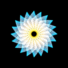 HTML Spirograph submission #748